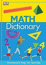 Math Dictionary: Homework Help for Families