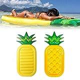 GGCL Gonfiabile Forma Materasso ad Aria di Un Ananas - Letto flottante Acqua Nuoto della Spiaggia di Estate Piscina Party Island Lounge Raft Decorazioni Giocattoli per Adulti