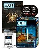 EXIT Das Spiel - Set: Der Raub auf dem Mississippi + Ebene 6 Taschenbuch + 2X Exit-Sticker + 1x...