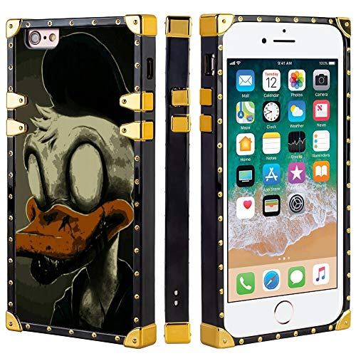 DISNEY COLLECTION Case Cover Fit iPhone 6 & 6S (4.7inch) Creepy Creepypasta Duck Donald Abandoned by Disney Zombie Spooky
