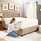 Empyrean Bedding 18' - 21' Extra Deep Pocket Fitted Sheet for High Mattress- Hotel Luxury Silky Soft Double Brushed Microfiber Sheet - Hypoallergenic Wrinkle Free Cooling Bed Sheet, Queen - White