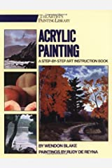 Acrylic Painting: A Step-by-Step Instruction Book (Artists Library) Paperback