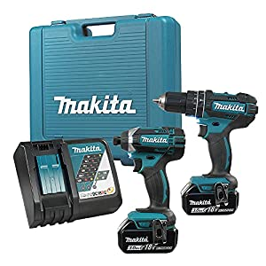 Makita LXT211 18-Volt LXT Lithium-Ion Cordless 2-Piece Combo Kit by Makita