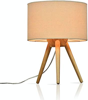 H65 Lámpara de mesa Lámpara Chantilly maderagris cm 3j5RLq4A