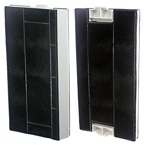 Spares2go Geruchs- und Fettfilter für Neff Dunstabzugshaube, komplett, 2 Stück