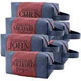 Set of 6 - Personalized Groomsmen Gifts,...