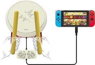 TwiHill Taiko Master para Nintendo Switch, Drum + Drum Hammer, Acessórios de jogos Nintendo Tambor externo
