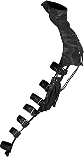 Baoblaze Retro Steampunk Soft Leather Pauldron Shoulder Bag Arm Cover Costume