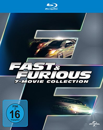 Fast & Furious 1-7 - Box [Blu-ray]