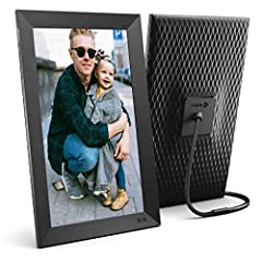 AMERICA'S NUMBER ONE SELLING FRAME with over 2 million units sold. Nixplay has been serving America's families for over 10 years. A great gift for new parents, grandparents, newlyweds, college kids or families separated by distance SHARE PHOTOS AND V...