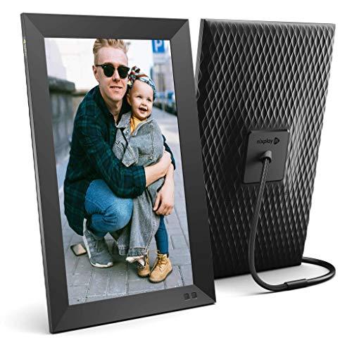 Nixplay WLAN Digitaler Bilderrahmen 15 Zoll, E-Mail, App, Google Fotos, Dropbox, Verizon Cloud, Facebook und Instagram Verbindung