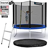 Kinetic Sports Outdoor Gartentrampolin Ø 275, TPLS09, inklusive Sprungtuch aus USA PP-Mesh...