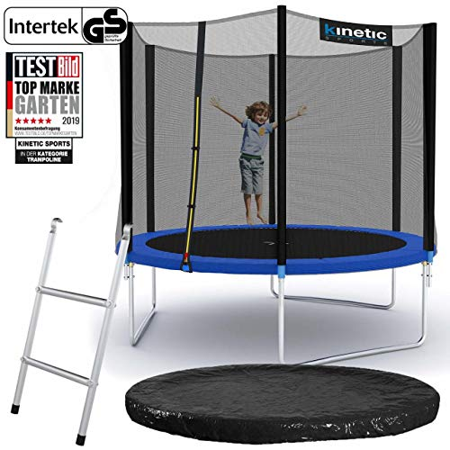 Kinetic Sports Gartentrampolin – ø 275 cm