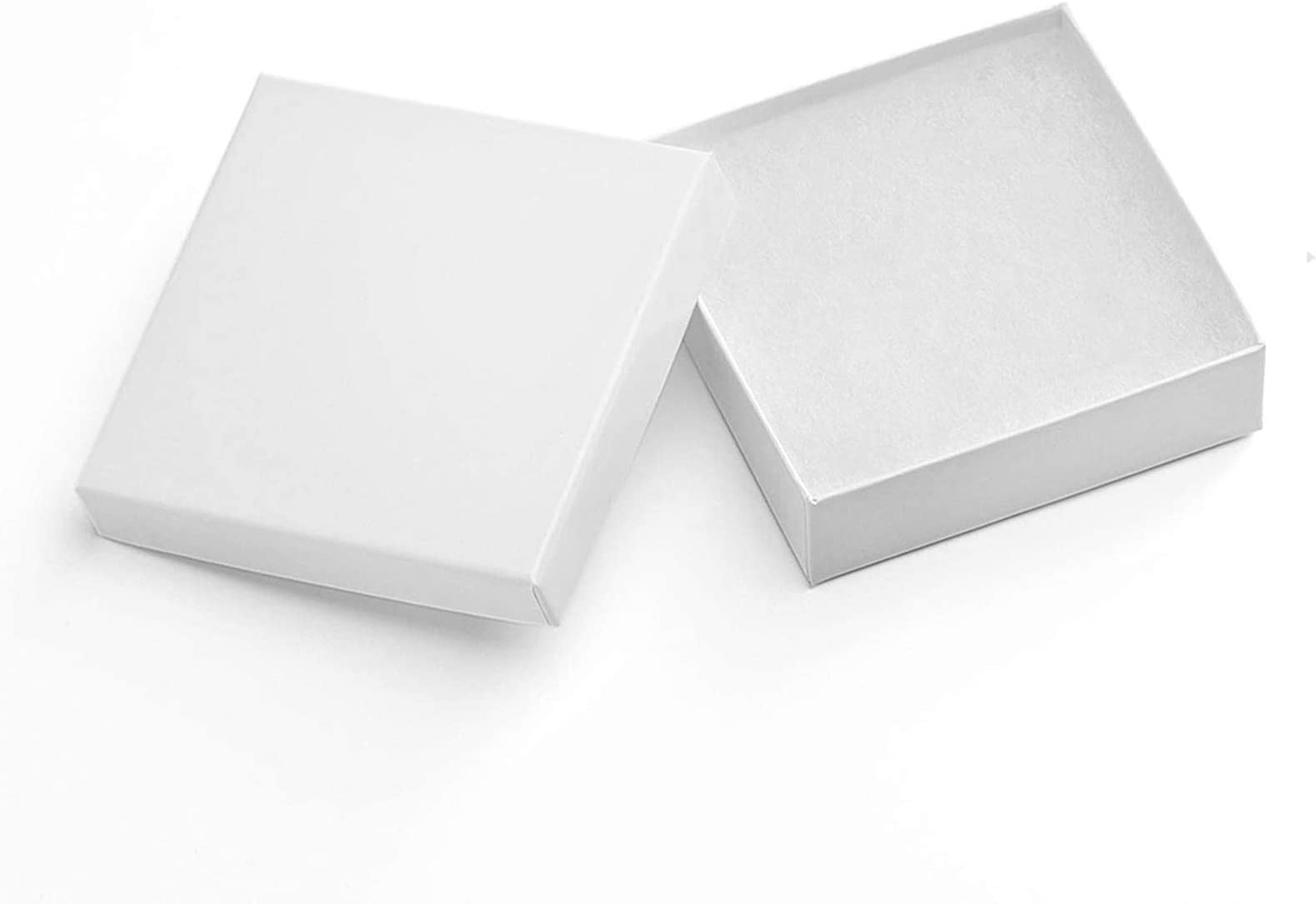 5 Size Assorted white cotton filled boxes 20 boxes