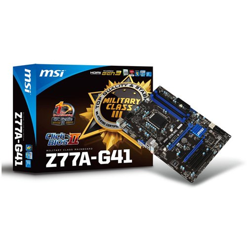 MSI Z77A-G41  ATX Bild