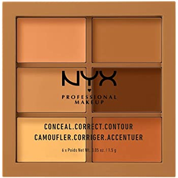 Paleta de correctores Nyx Professional Makeup, Tono Deep