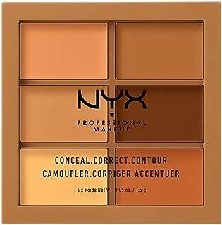 NYX PROFESSIONAL MAKEUP Conceal, Correct, Contour Palette, Deep 03