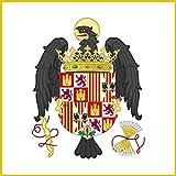 magFlags Bandera Large Pabellón Real de los Reyes Católicos 1492-1504/6 | 1.35m² | 120x120cm