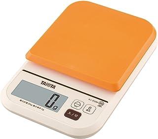 タニタ はかり スケール 料理 カロリー 2kg 1g オレンジ KJ-210M OR ごはんのカロリーがはかれる
