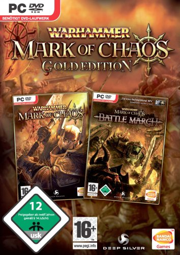 Koch Media Warhammer Mark of Chaos - Battle March - Gold Version - Juego (DEU, 3758 MB, 512 MB, Pentium 2.4GHz, 128 MB, NVIDIA Geforce FX/ATI 9600)