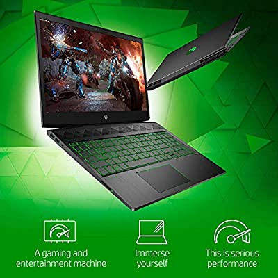 "New 2020 HP Pavilion Gaming Laptop 15.6"" FHD 1080p Core i5-9300H NVIDIA GTX 1050 3GB 8GB RAM 256GB SSD Windows 10 by hp"