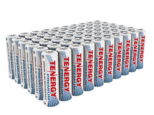 Tenergy Premium Rechargeable Batteries AA