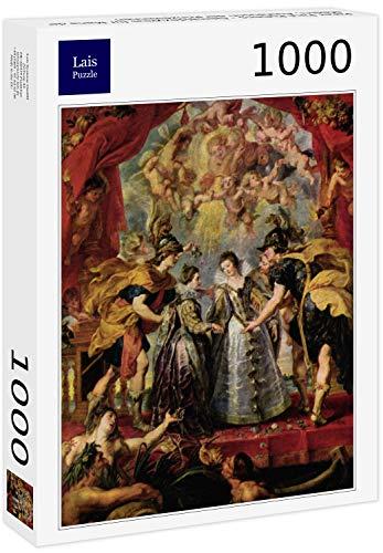 Lais Puzzle Peter Paul Rubens - Ciclo de Pinturas para María de' Medici, Intercambio de Princesas 1000 Piezas