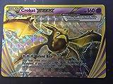 Pokemon Crobat Break XY181 Holo Rare Arcanite Break Box Promo