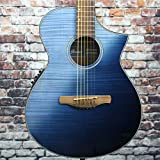 Ibanez AEWC32FM Acoustic-Electric Guitar (Indigo Sunset Fade)