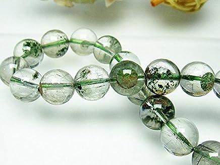 ガーデン水晶ルチルブレスレット11mm【T660-1595】