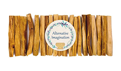 Premium Palo Santo Holy Wood Incense Sticks, for Purifying, Cleansing, Healing, Meditating, Stress Relief. 100% Natural and Sustainable, Wild Harvested. (20)