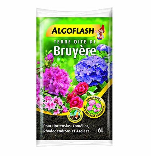 ALGOFLASH Sac de Terre dite de Bruyère, Prêt à l'emploi, 6 L, ATB6