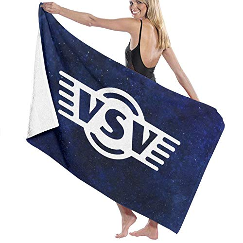 URANDM Vintage Step Vans Microfiber Beach Towel (52 X 32) -Highly Absorbent, Quick Dry Lightweight Towels Blanket for Sports Travel Pool Swimming Beach Gym Bath