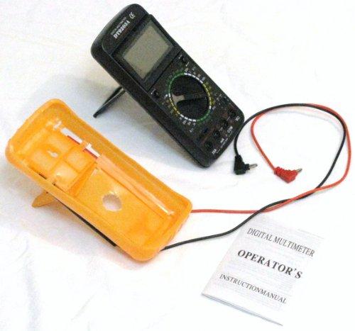 Multimeter/Voltmeter/Strommessgerät DT9205A mit 2x Prüfkabel