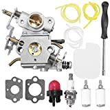 Anxingo P3314 Carburetor for Poulan Chainsaw 545070601 for P3416 P3816 P4018 PP3416 PP3516 PP3816 PP4018 PP4218 PPB3416 PPB4018 PPB4218 with Air Fuel Filter Adjustment Tool Tune-up Kit