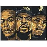 Hip Hop Musik Rapper Stars Ice Cube Leinwand Poster und
