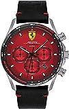 Scuderia Ferrari Reloj Analógico para Hombre de Cuarzo con Correa en Cuero 0830713