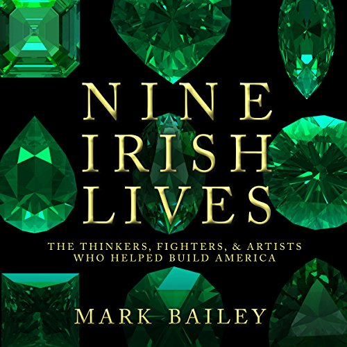 Nine Irish Lives audiobook cover art