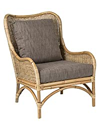 Amazon East at Main Osborne Natural Rattan Accent Chair