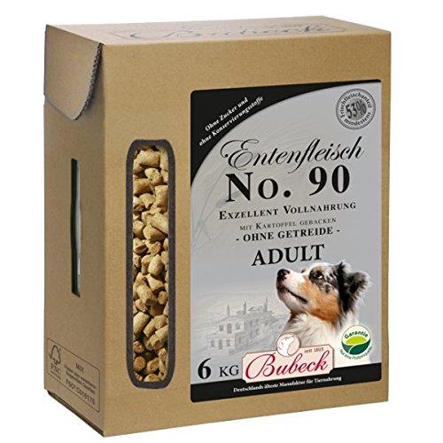 Bubeck Entenfleisch mit Kartoffel Adult No. 90, 1er Pack (1 x 6 kg)