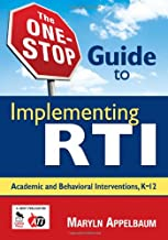 The One Stop Guide to Implementing RTI: Book