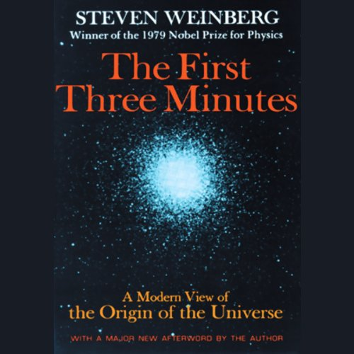 The First Three Minutes audiobook cover art