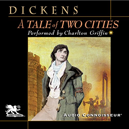 A Tale of Two Cities audiobook cover art