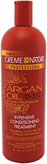 Creme Of Nature Argan Oil Conditioner Pro Treatment20 Ounce (591ml) (2 Pack)