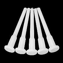 BAAQII 10 stuks luchtstopper plug ventiel sproeier pin wit yoga gym bal gymball 5 cm lengte