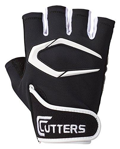 カッターズ (CUTTERS) トレーニンググローブ 手袋 T020 トレーニング2.0 グリップ 滑りにくい 洗濯可能 ウエイトトレーニング 筋トレ L ブラック