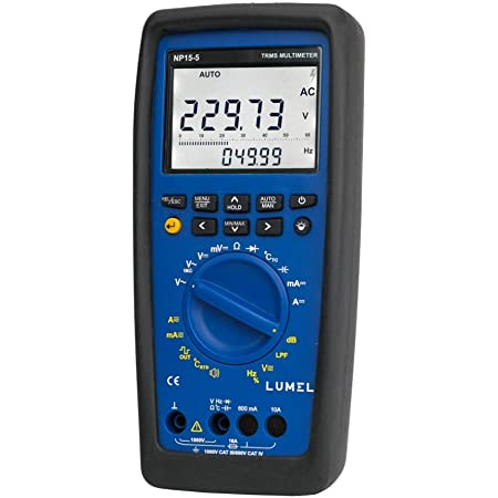 Lumel Np15 Digital Multimeter Rms Rms Rms 100khz Bandwidth For Voltage Measurements 1khz Low Pass Filter Mode 6a 16a No Go Function Business Industry Science