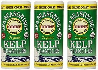 Maine Coast Sea Vegetables Organic Kelp Granules Salt Alternative 1.5 oz (Pack of 3)