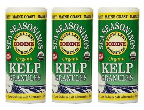 Maine Coast Sea Vegetables Organic Kelp Granules Salt Alternative 1.5 oz (Pack of 3)