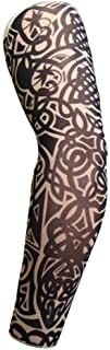 1PC Cooling Arm Sleeves for Men,UV Protective UPF Long Sun Sleeves, Tattoo Cover up Sleeves to Cover Arms